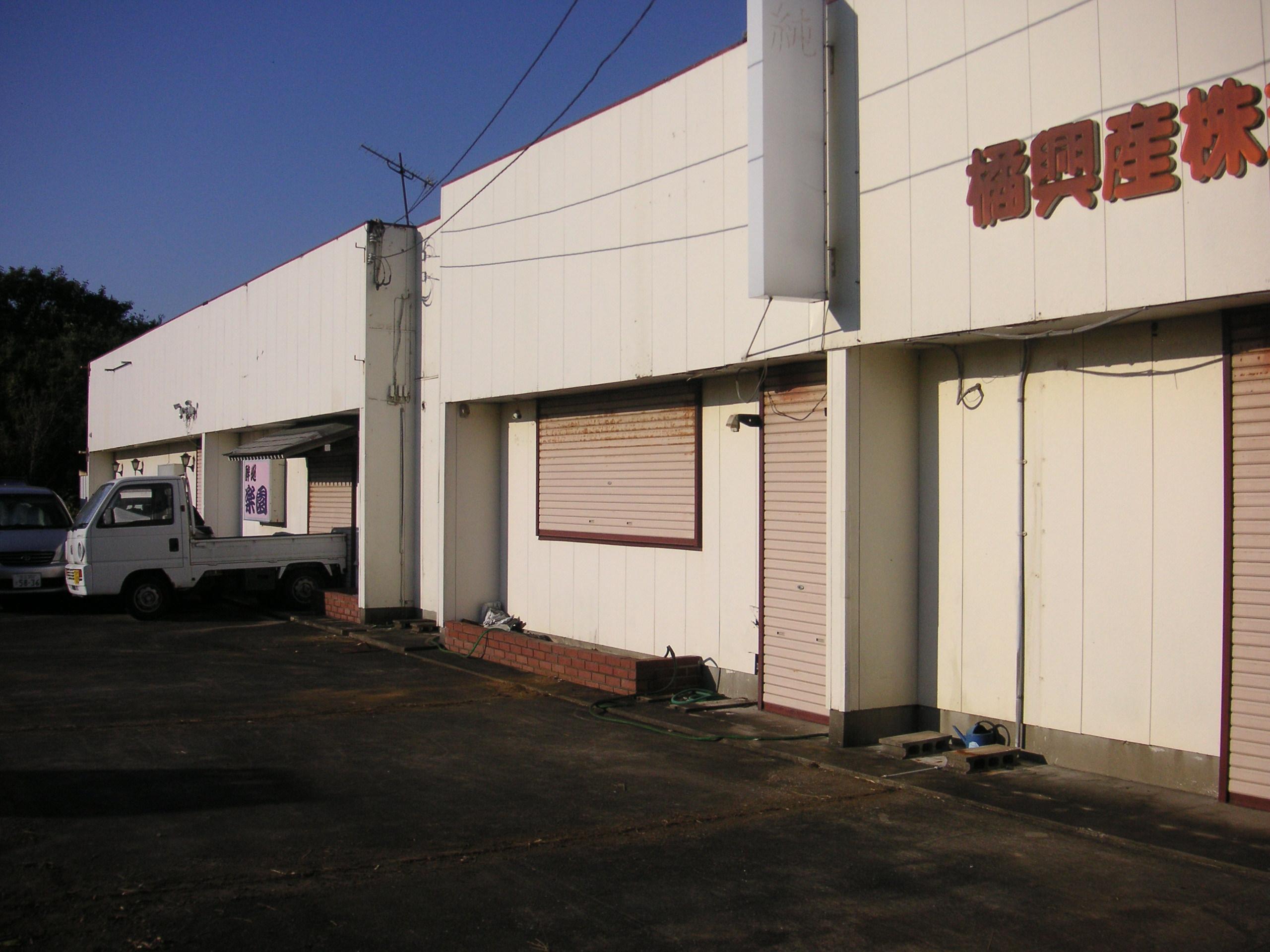 東庄町のバイク置場・物品庫